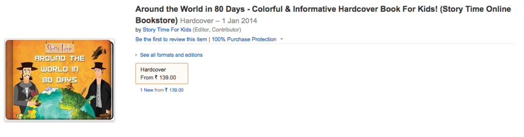 Around The World In 80 Days at Amazon