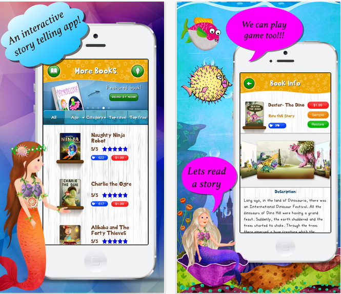 Story Time For Kids app