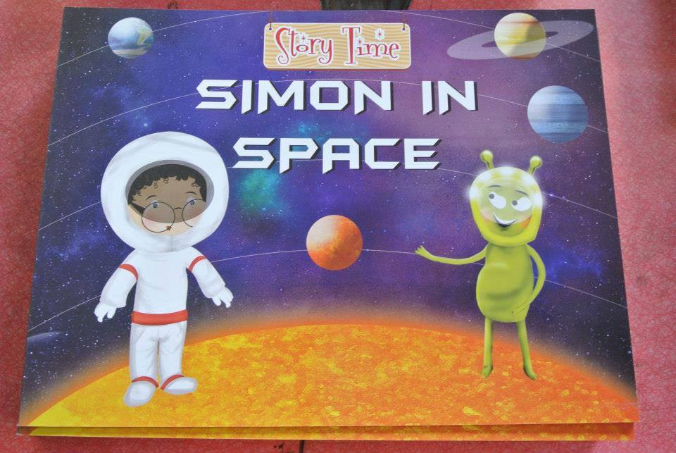 Simon In space - a fantasy adventure book for kids