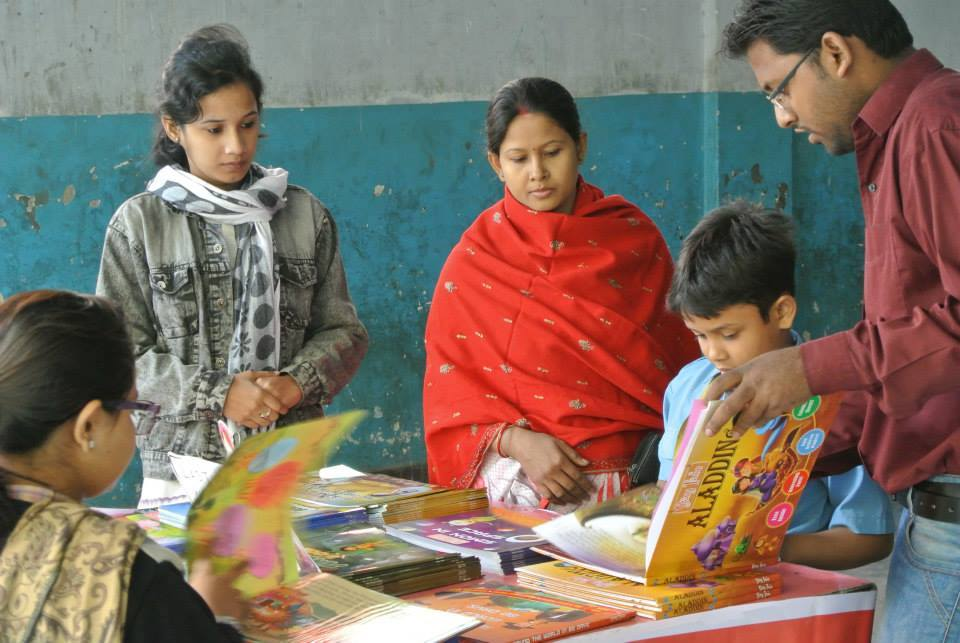 More than 50 storybooks were sold