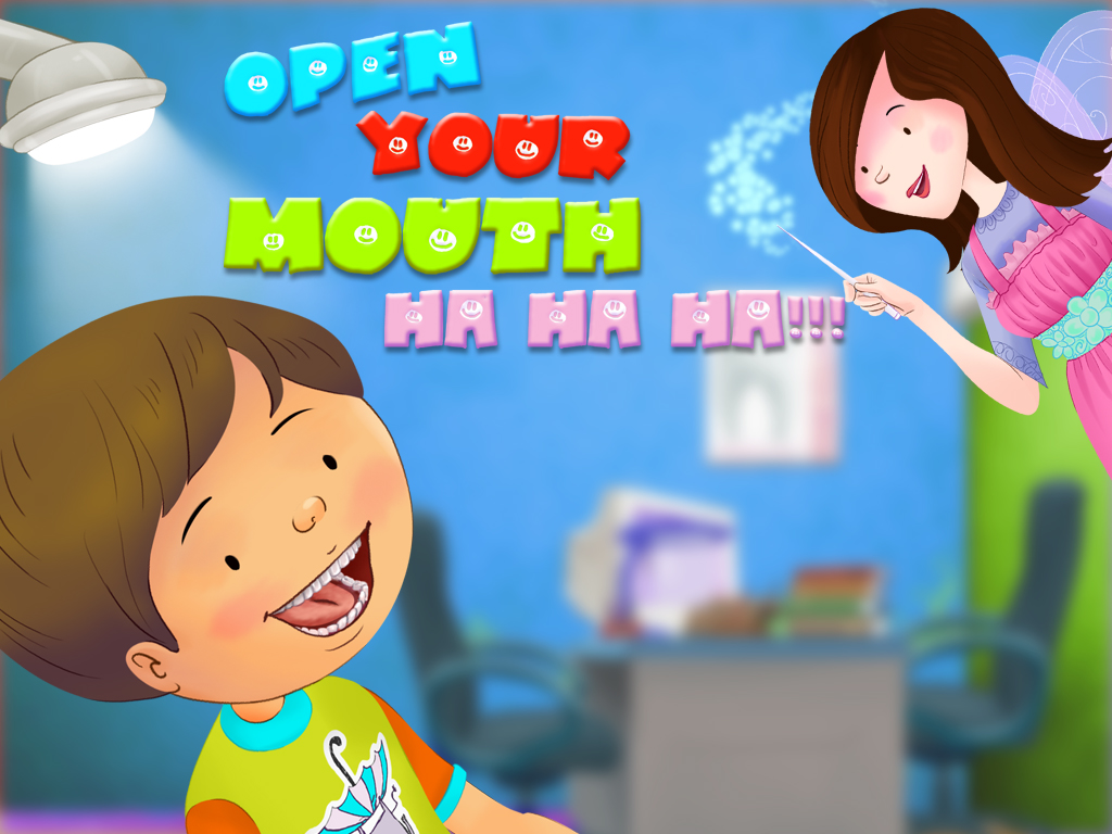 Open Your Mouth kids' storybook